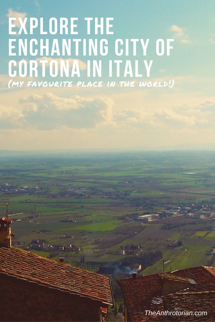 The enchanting city of Cortona in Italy