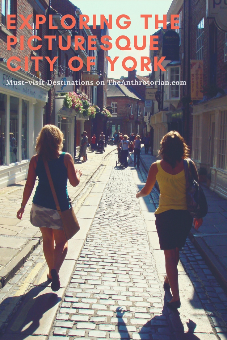 Exploring the city of York in the UK