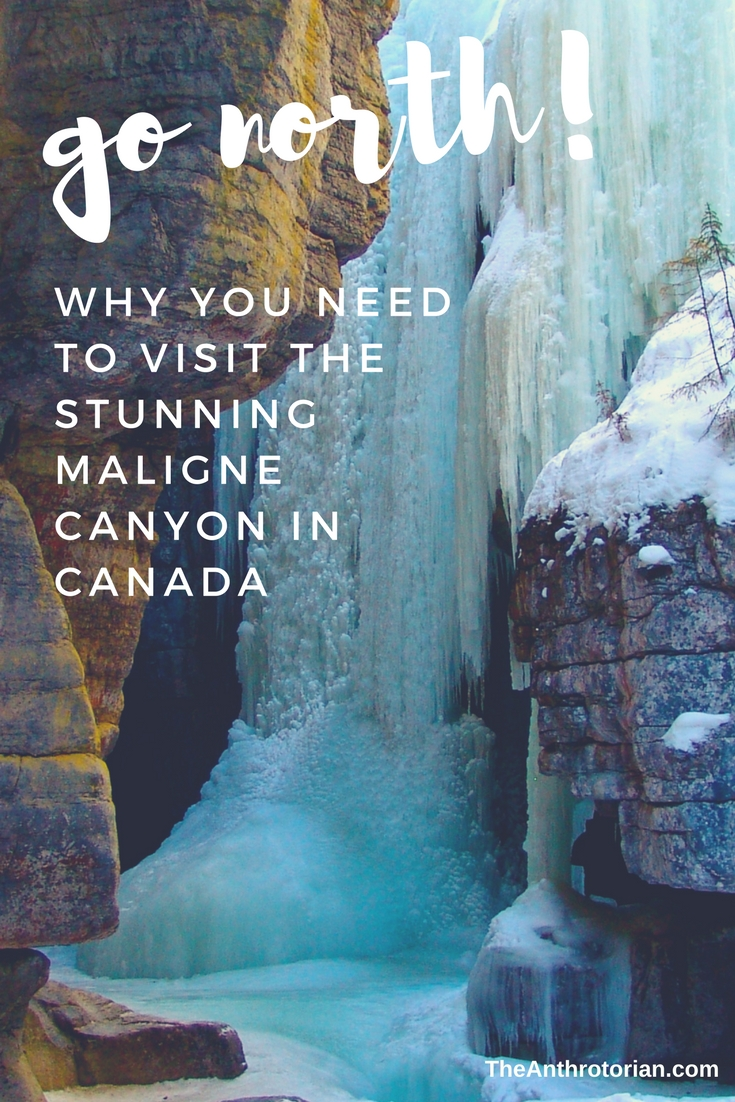 Visit the Maligne Canyon in Canada