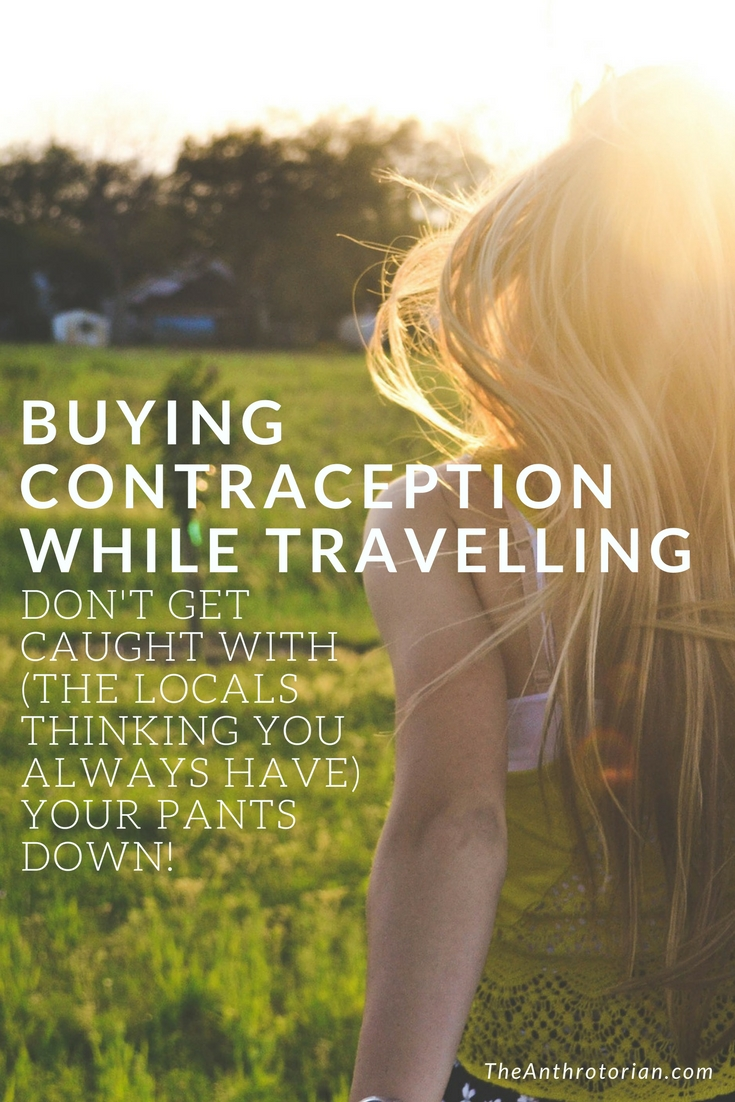 Tips for buying birth control while travelling