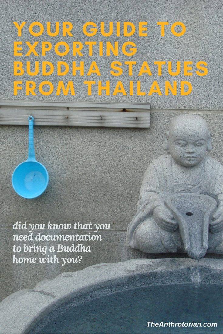 Bringing Buddha statues home from Thailand