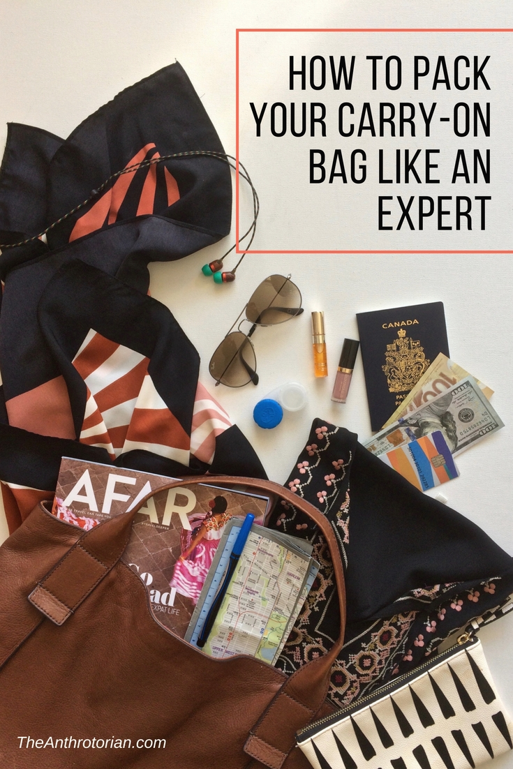How to pack your carry-on bag like an expert