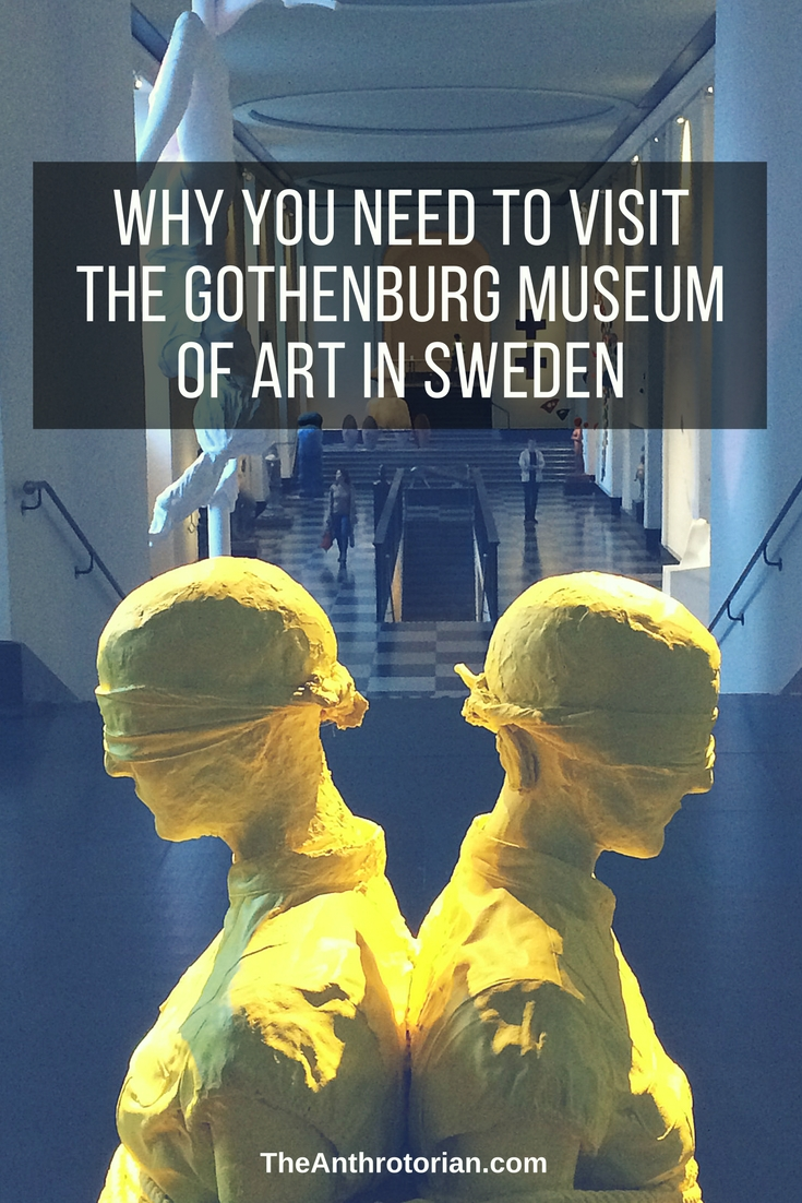 The Gothenburg Museum of Art in Sweden