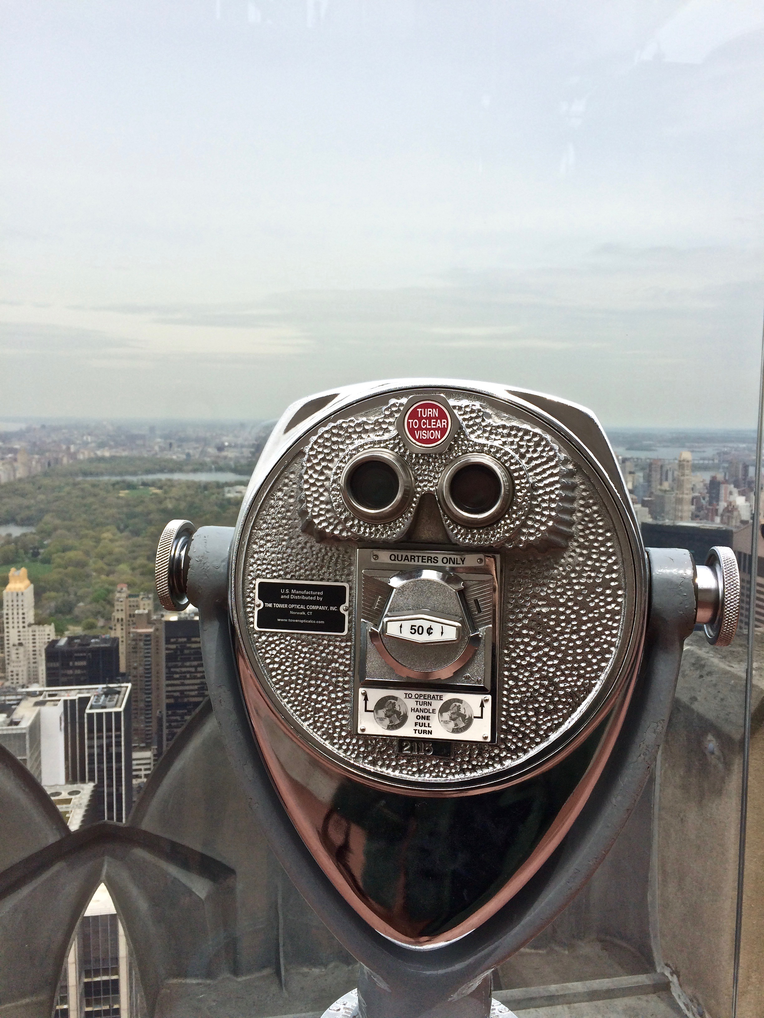 Top of The Rock in NYC