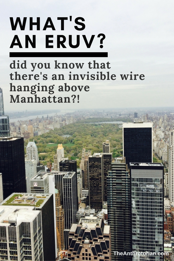 The Eruv Wire in Manhattan