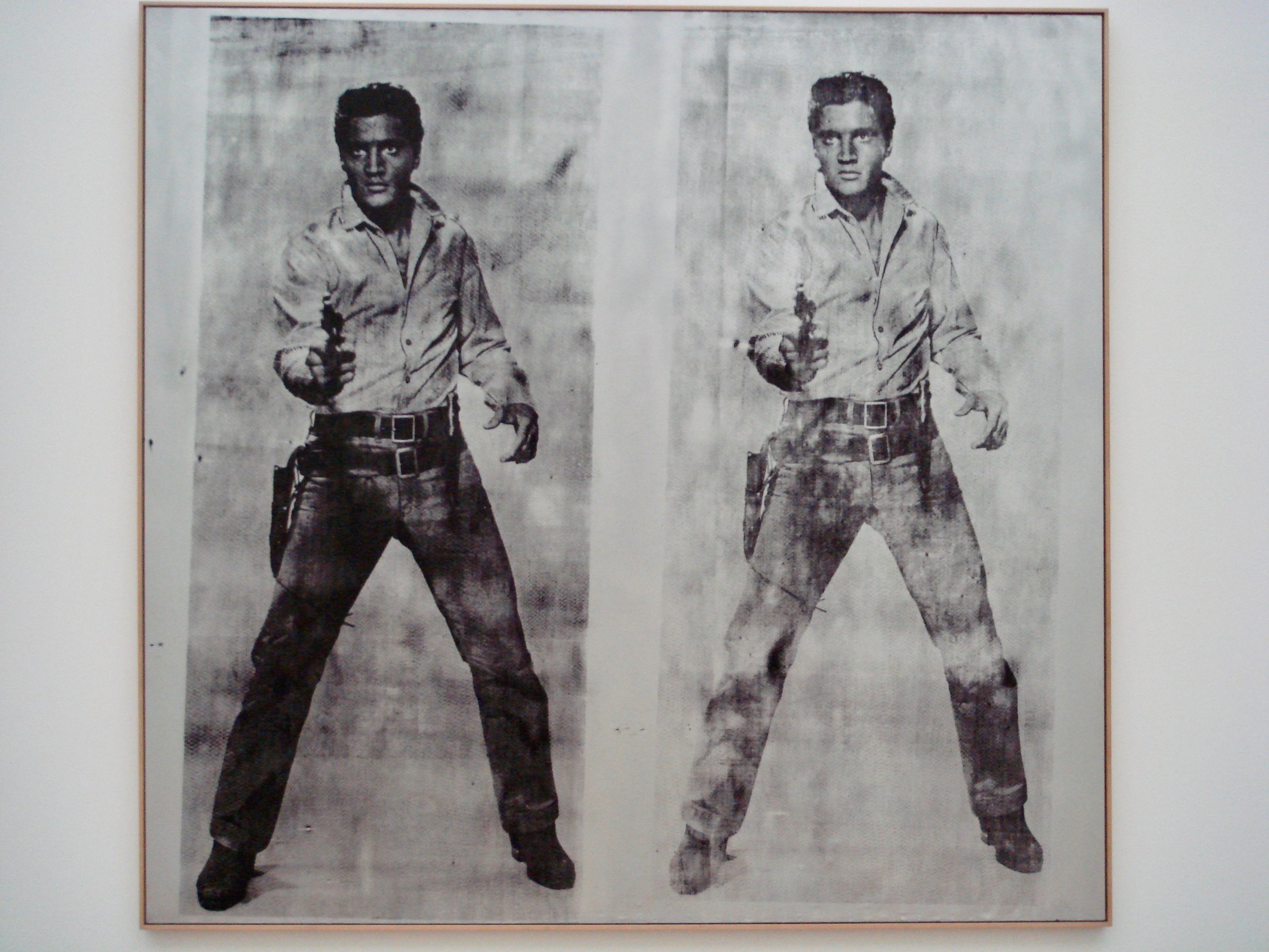 Elvis at Berlin's Hamburger Bahnhof