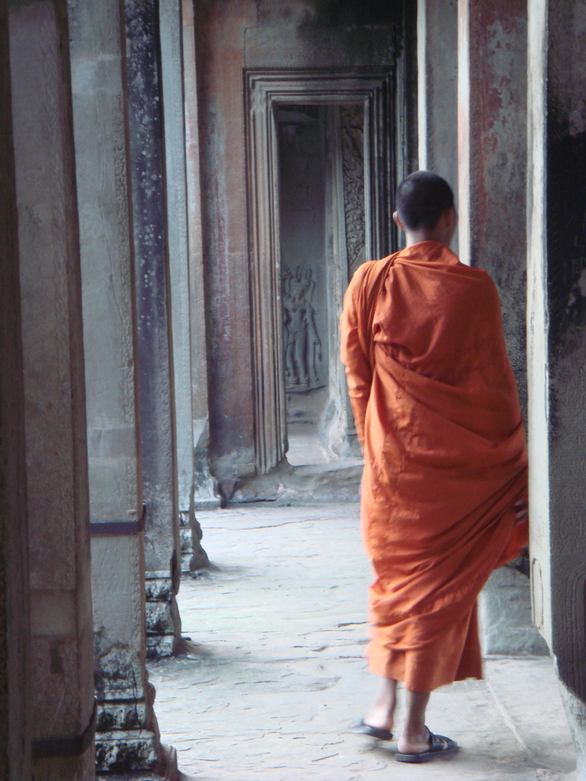 Don't touch the monks in Southeast Asia