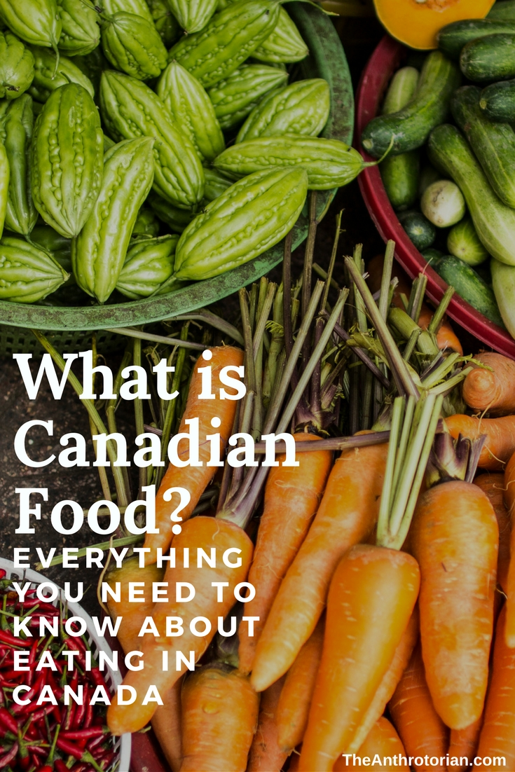 What is Canadian Food