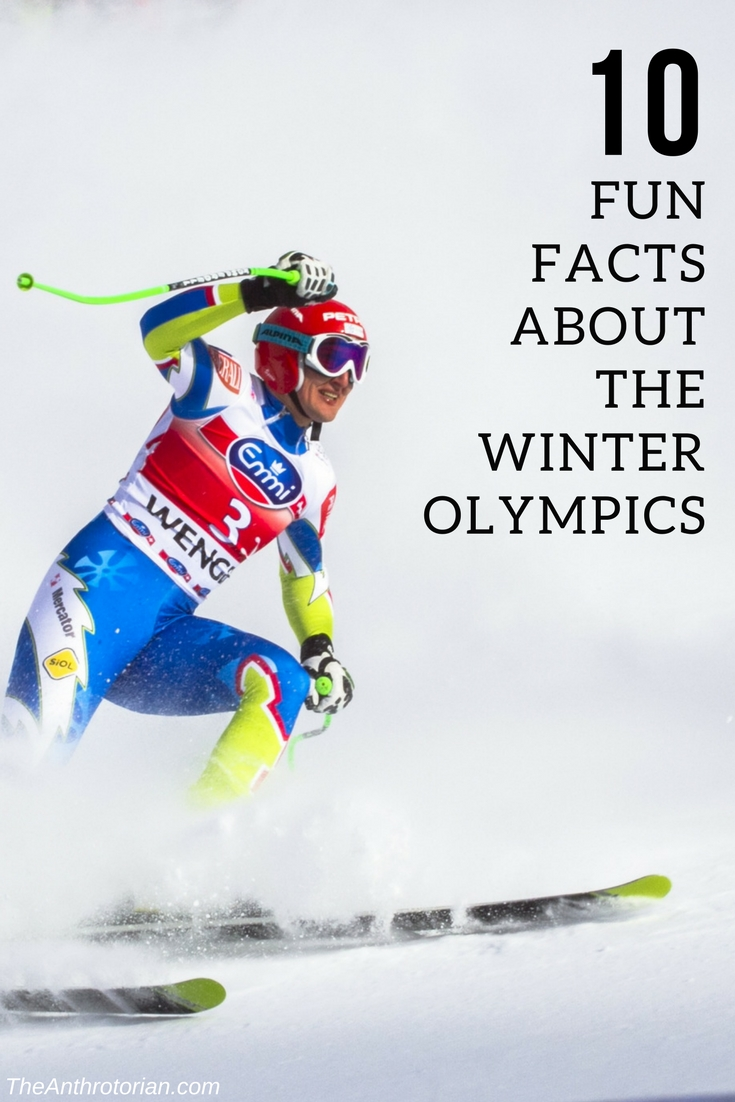 10 Fun Facts About The Winter Olympics