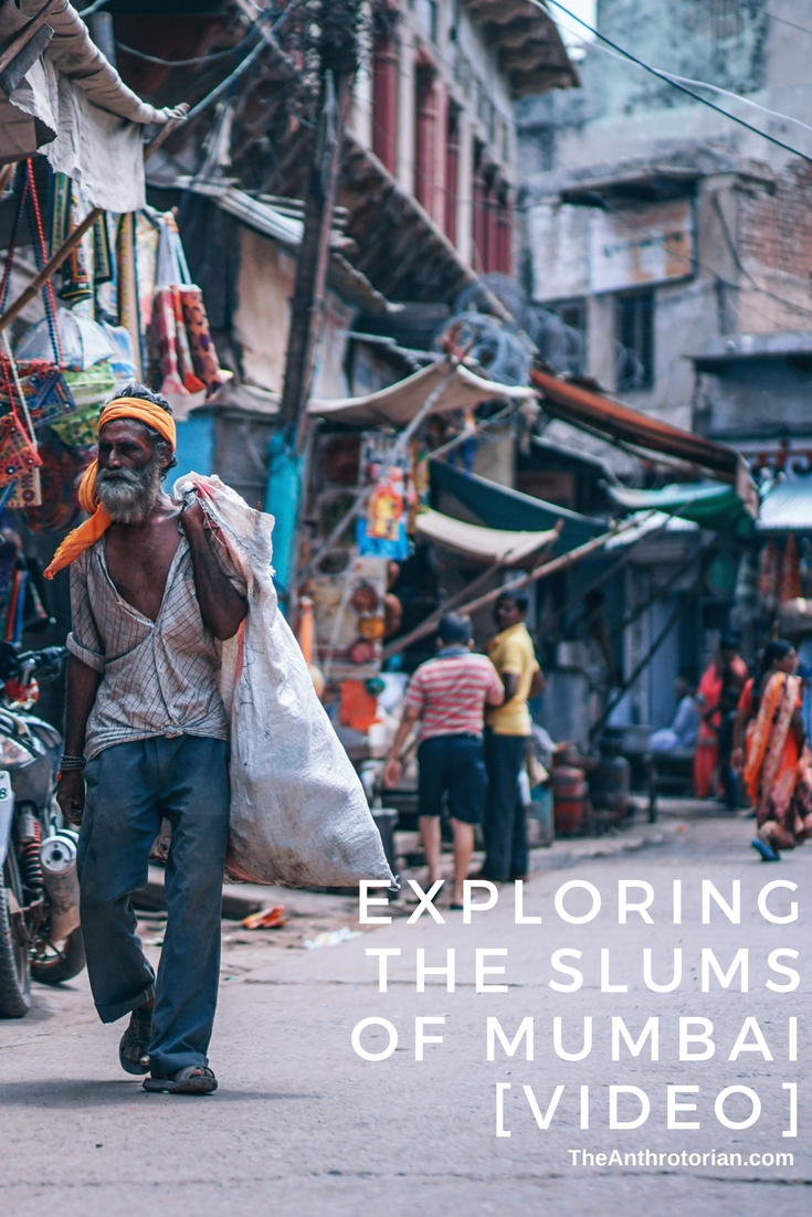 Exploring the slums of mumbai
