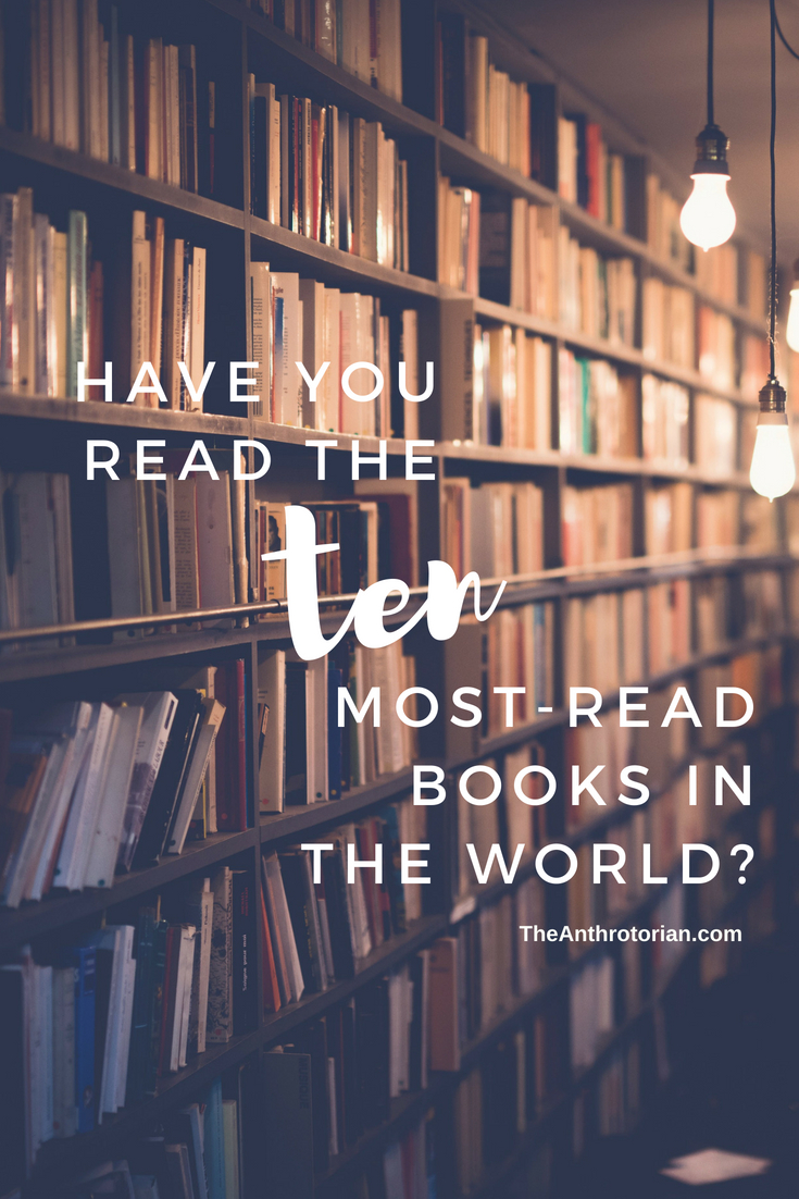 Have you read the 10 most-read books in the world