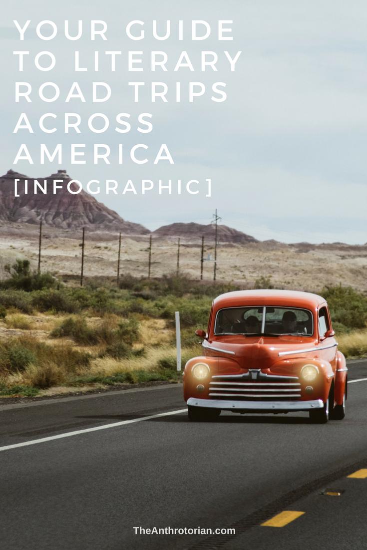 literary road trips across america
