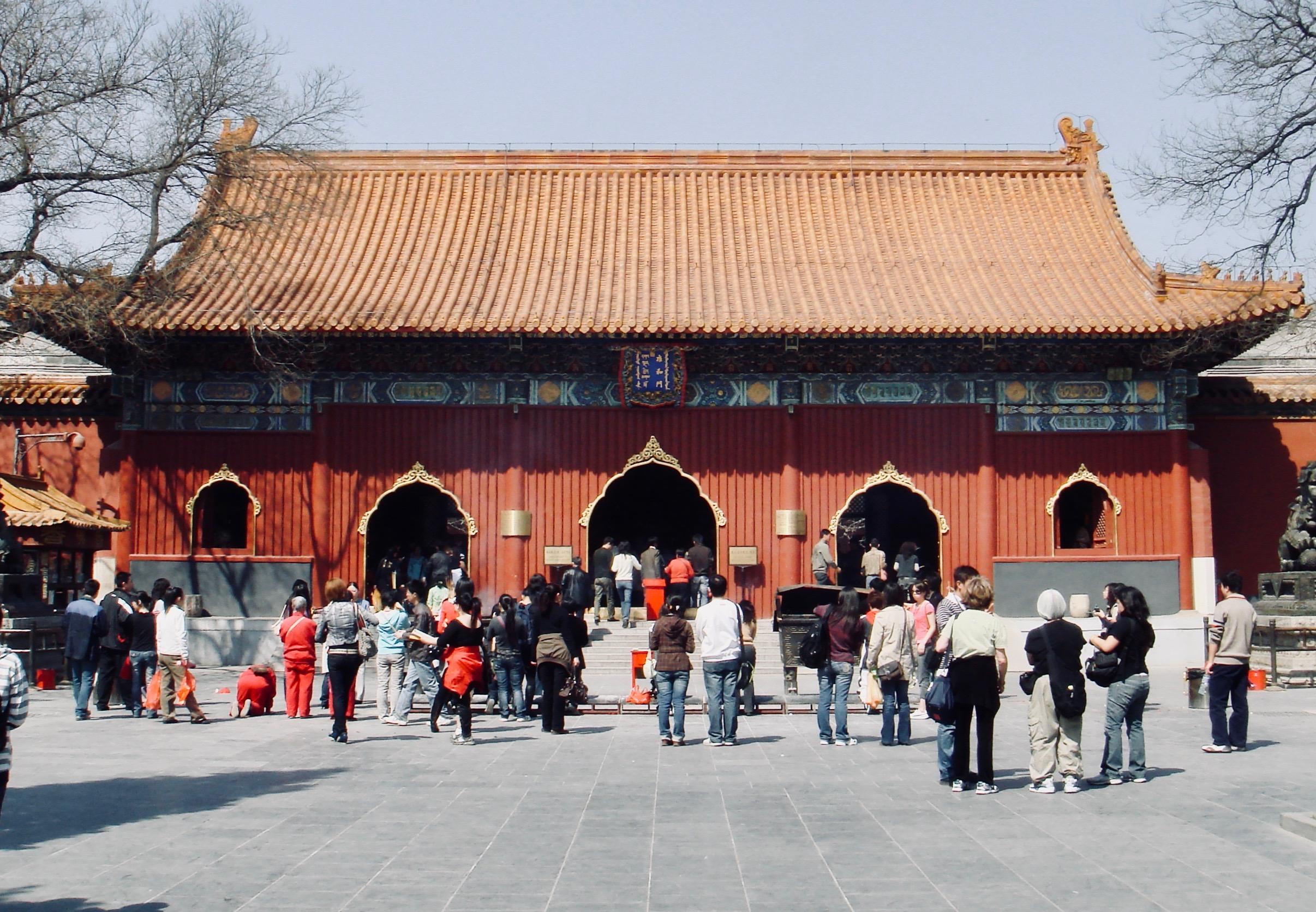 Lama Temple in Beijing