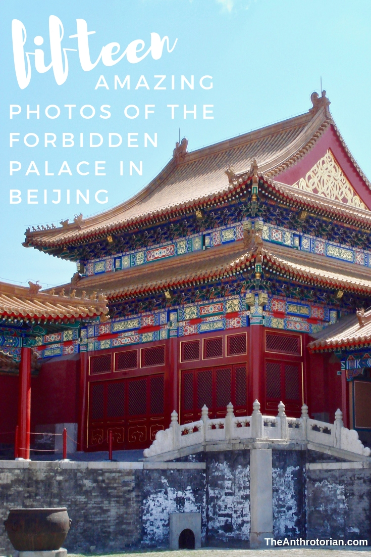 Forbidden Palace in Beijing China