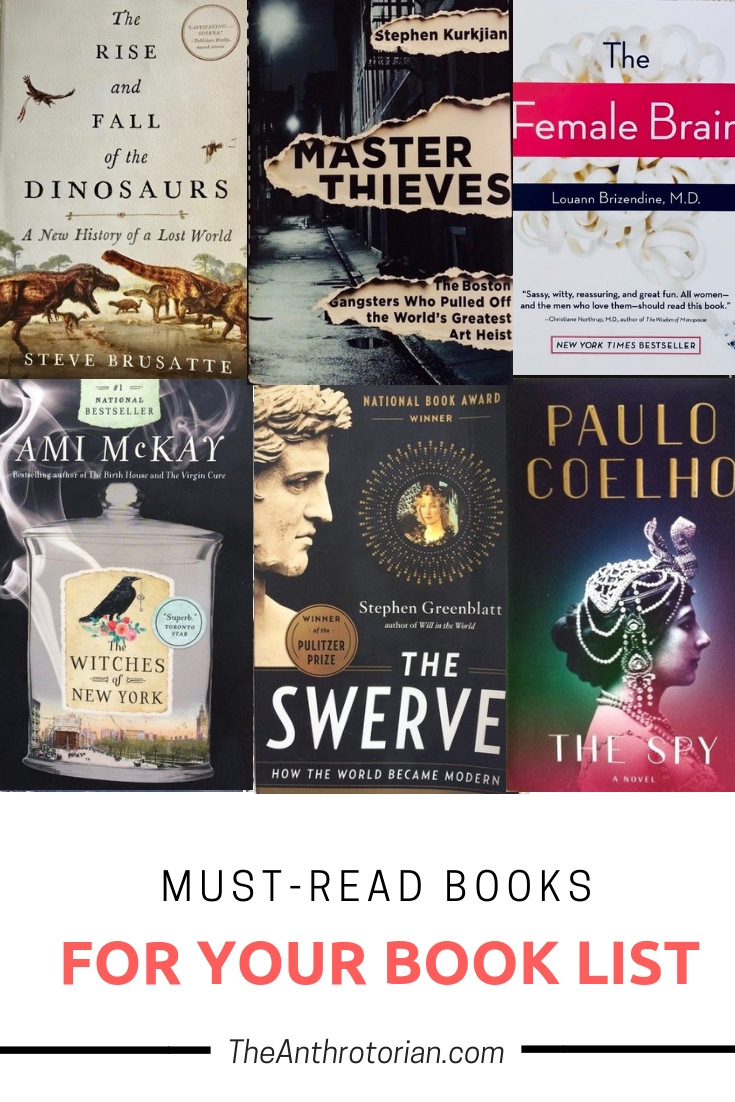 Must-read books for book lists