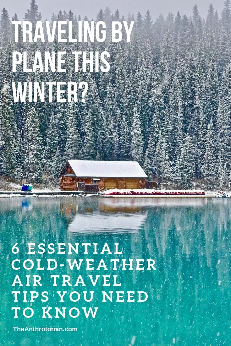 Winter Plane Travel Tips
