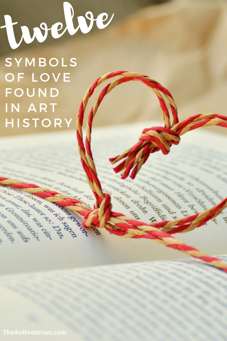 symbols of love found in art history
