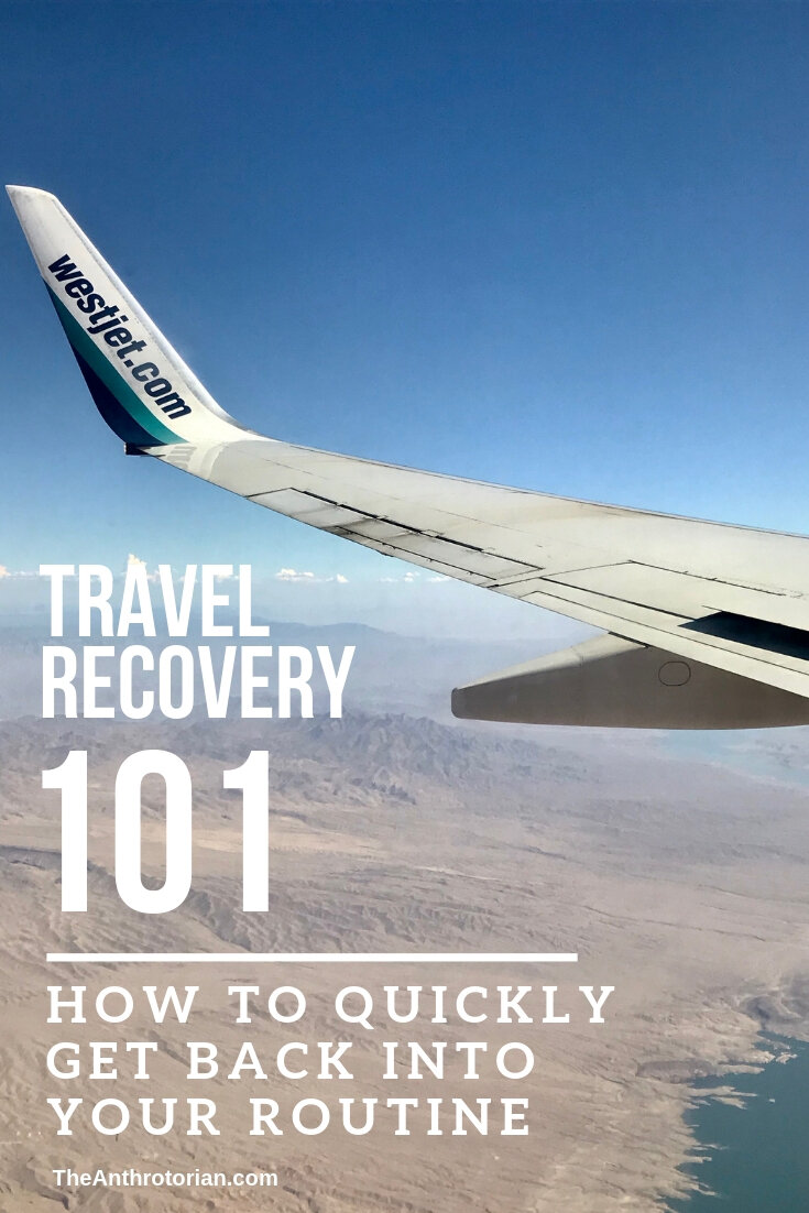 How to get back into a routine after a trip