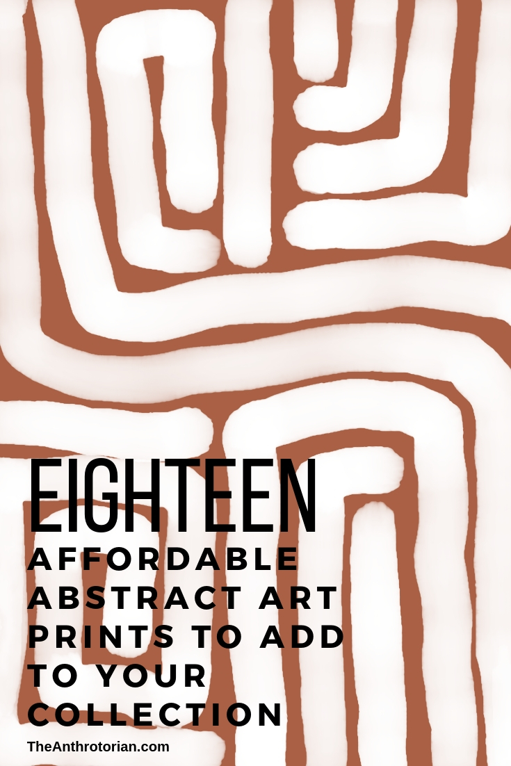 Affordable Abstract Art Prints for Your Gallery Wall