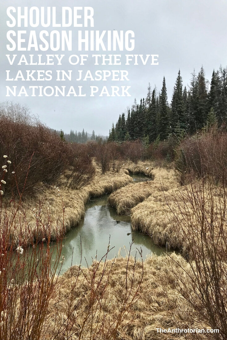 Shoulder Season Hiking: Valley of The Five Lakes in Jasper National Park