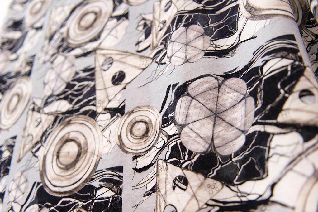 Buttons - velvet furnishing fabric