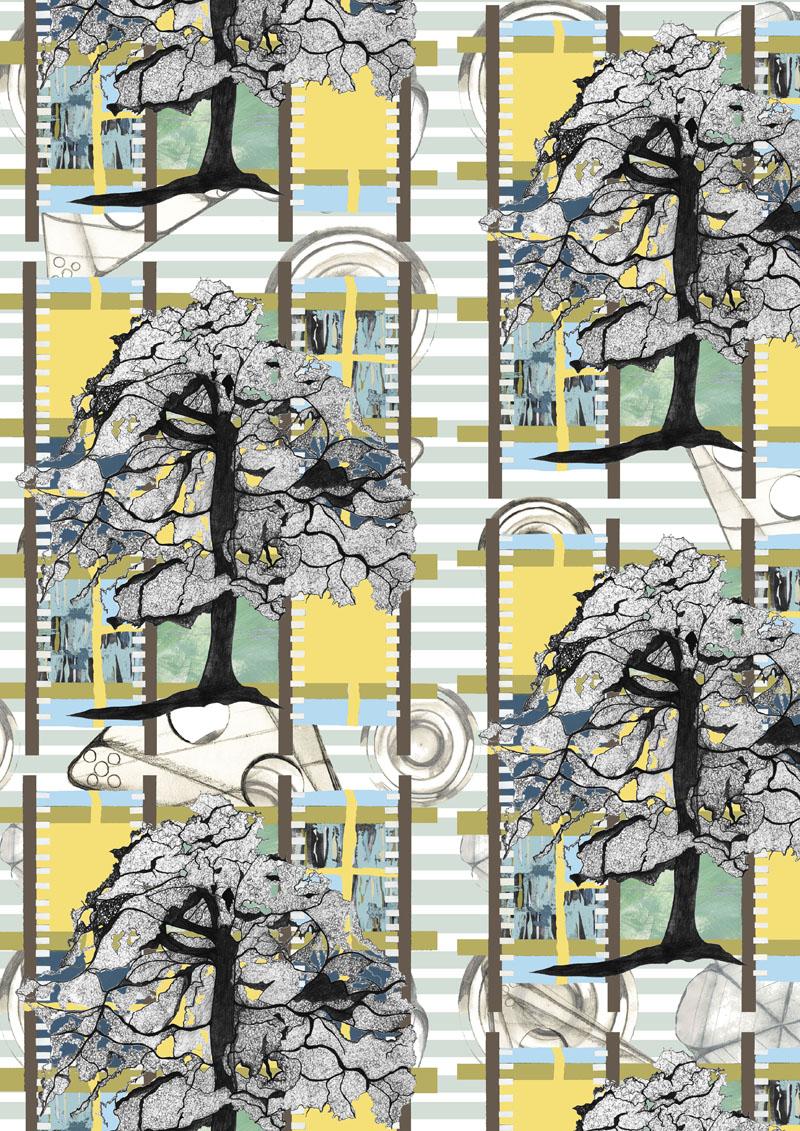'Tree' wallpaper design
