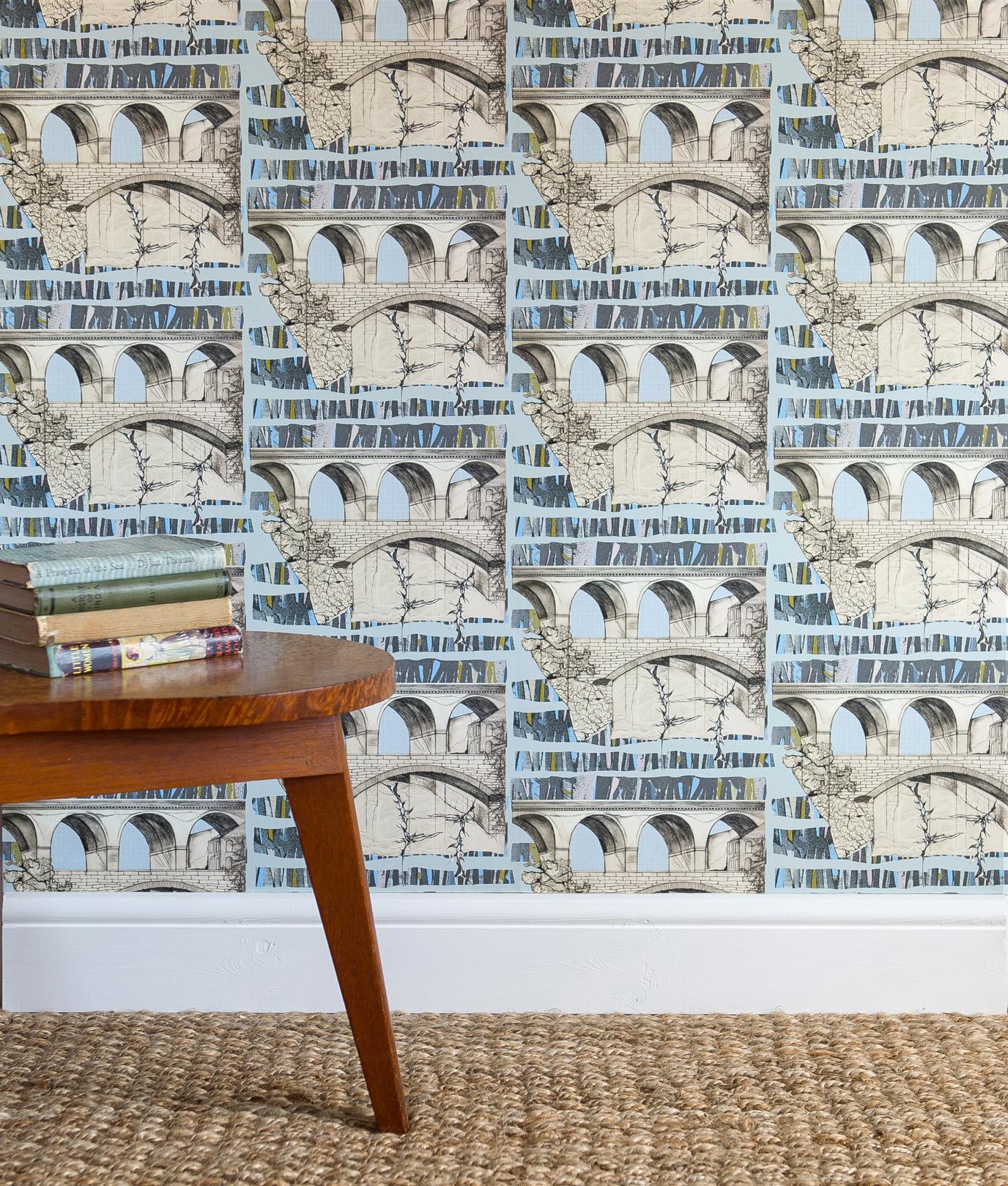 Viaduct luxury wallpaper