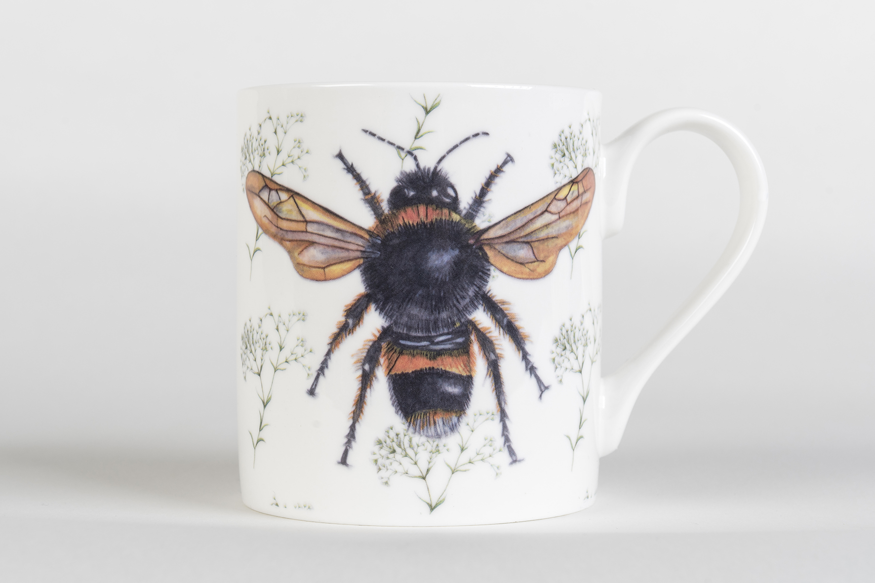 Bee Bone China Mug