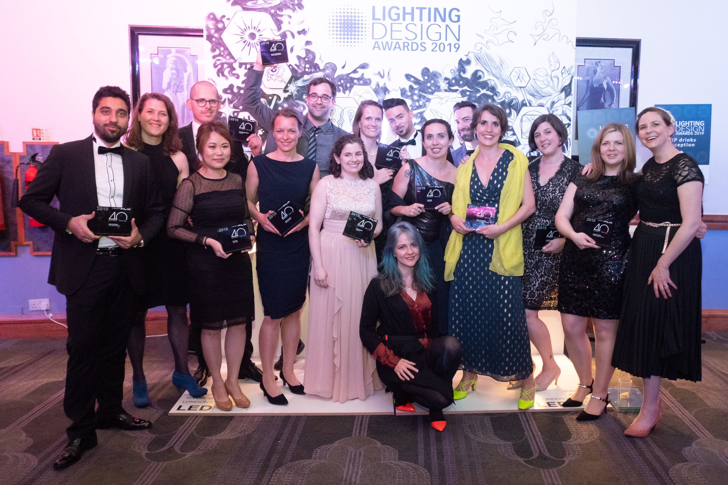 LIGHting design awards 2019 - 40under40 winners