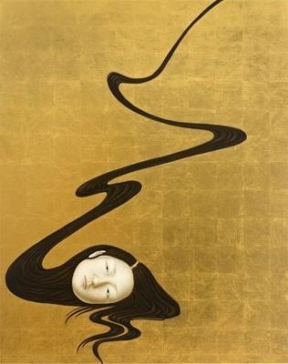 after the painting by Aya Uekawa