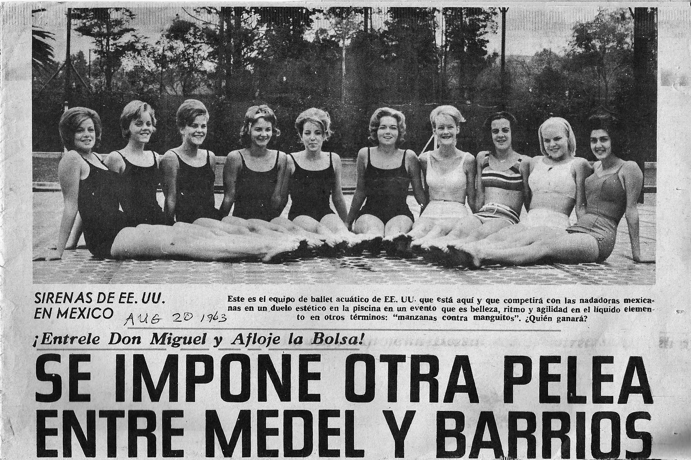Corkettes in Mexico 1963.jpg