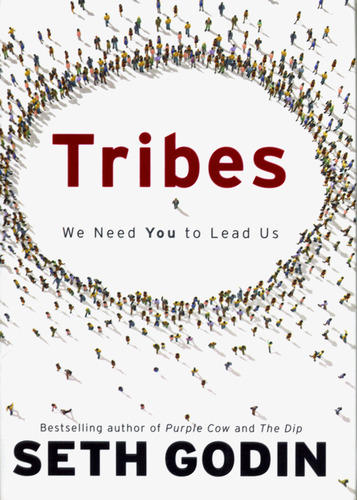 Seth Godin - Tribes, cover art by Mirko Ilic.