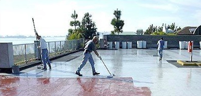Auto-Gard Traffic Decks — Coatings Application