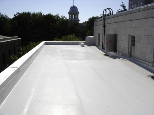Fluid-Applied Roofing Systems — Coatings Application