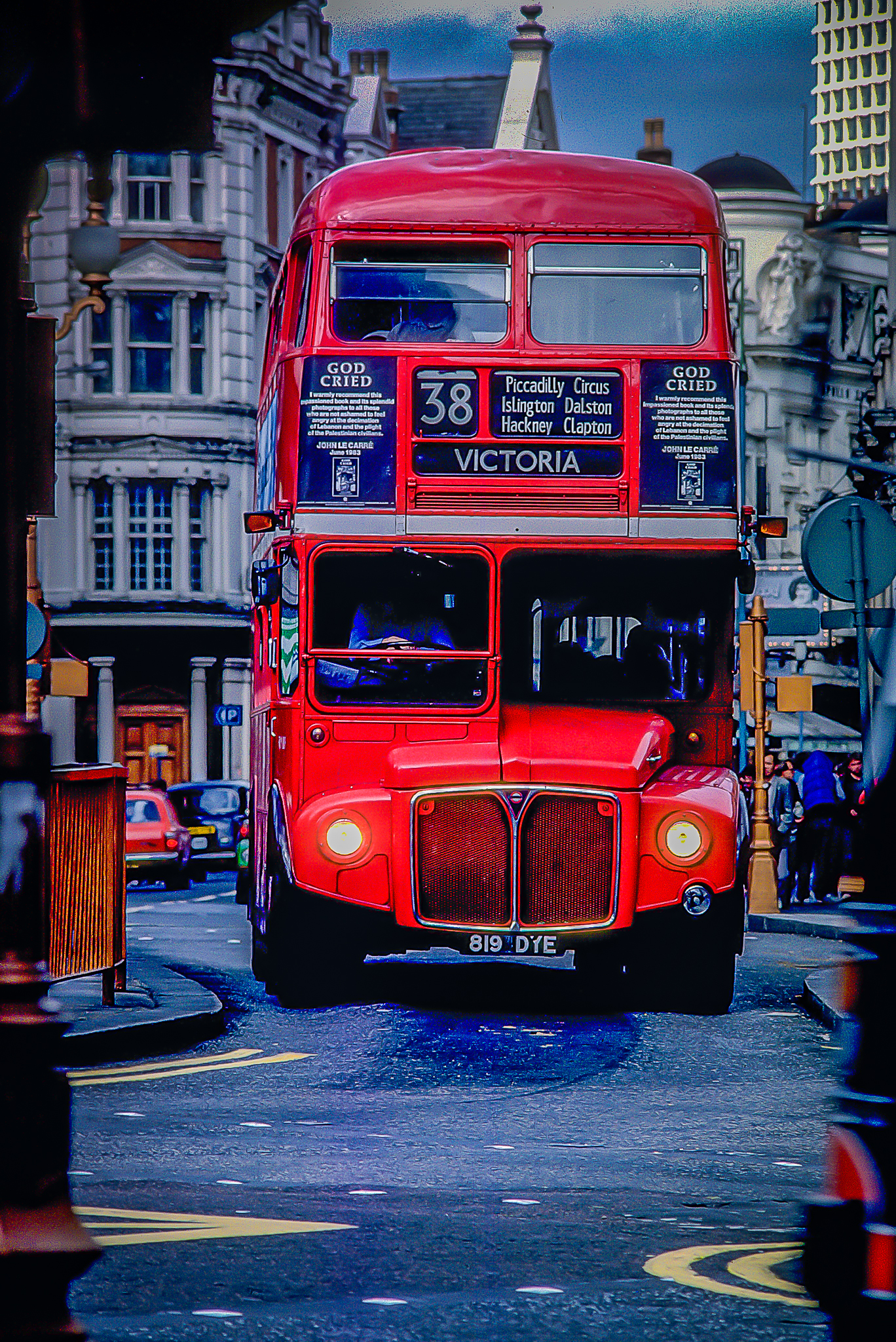 Double Decker Bus, Victoria, London