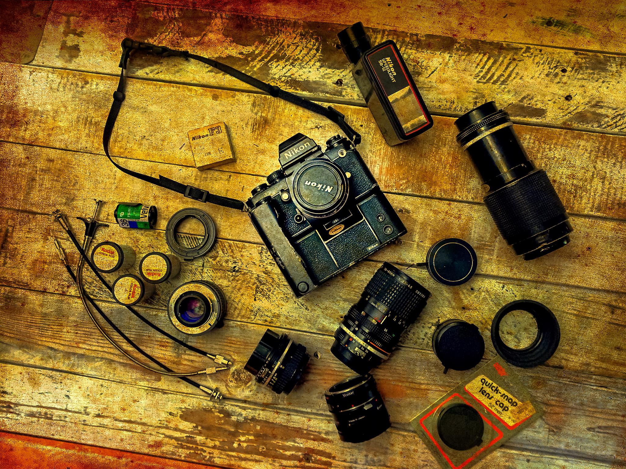 NIkon F3 HP 35mm Film System