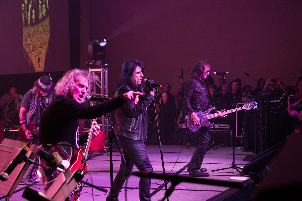 Alice Cooper Reunion at Music Biz 2017 in Nashville, TN