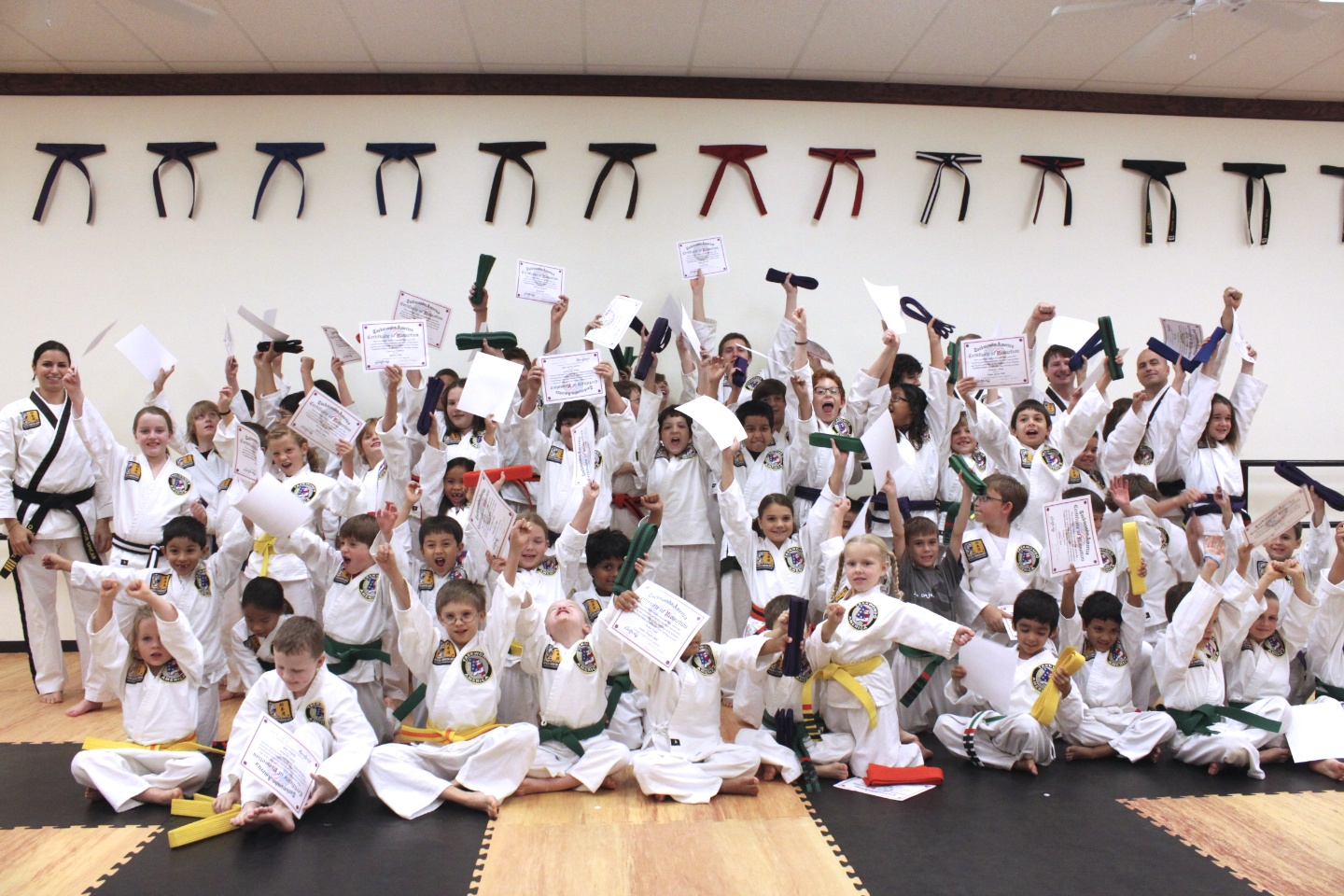 Award Ceremony for Beginner and Intermediate students