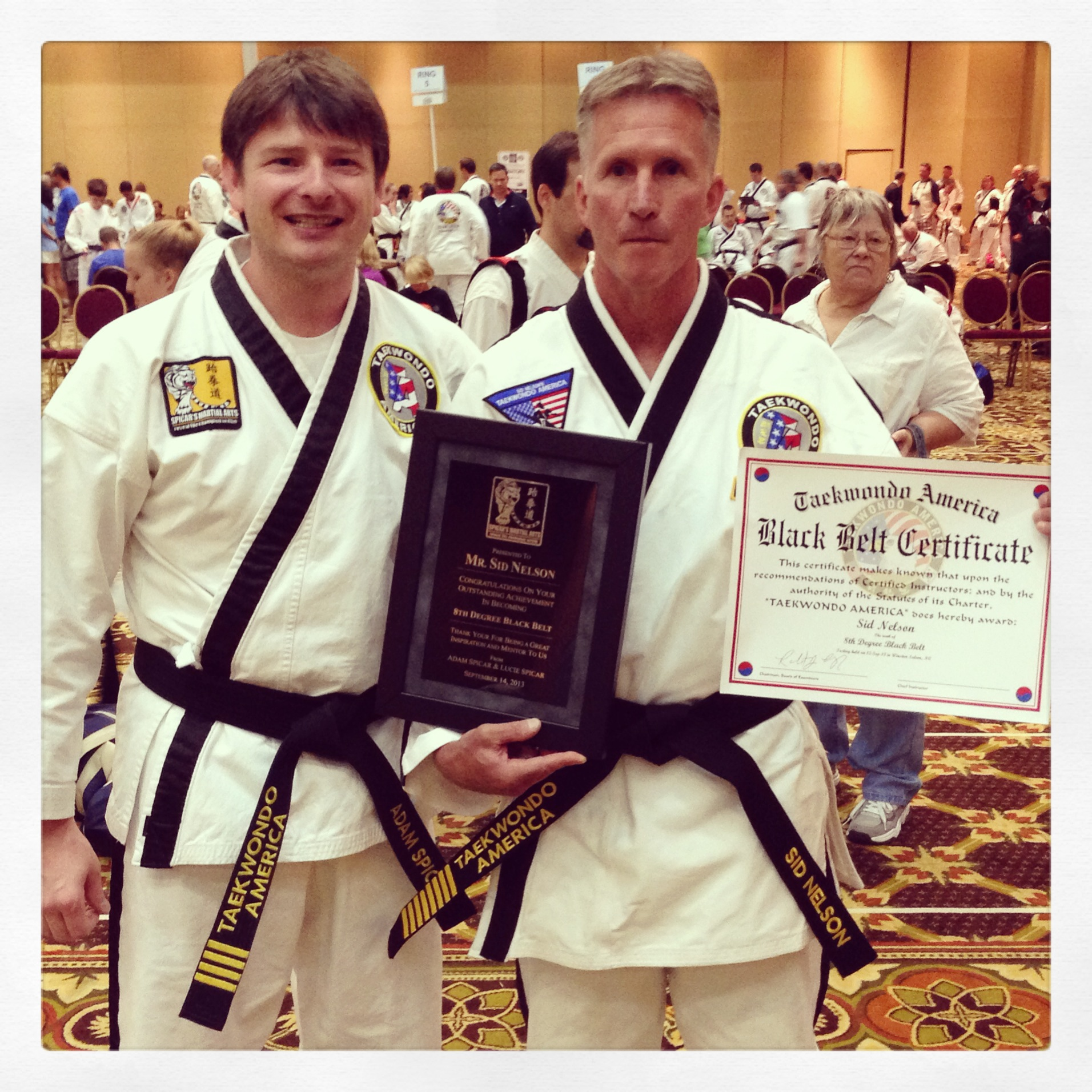 Me with Grandmaster Sid Nelson