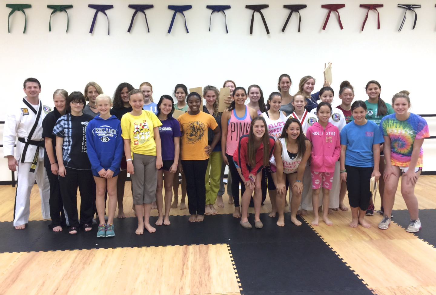26 local girls from Southlake, Colleyville, Grapevine and Keller learned a great deal about dealing with a dangerous situation.