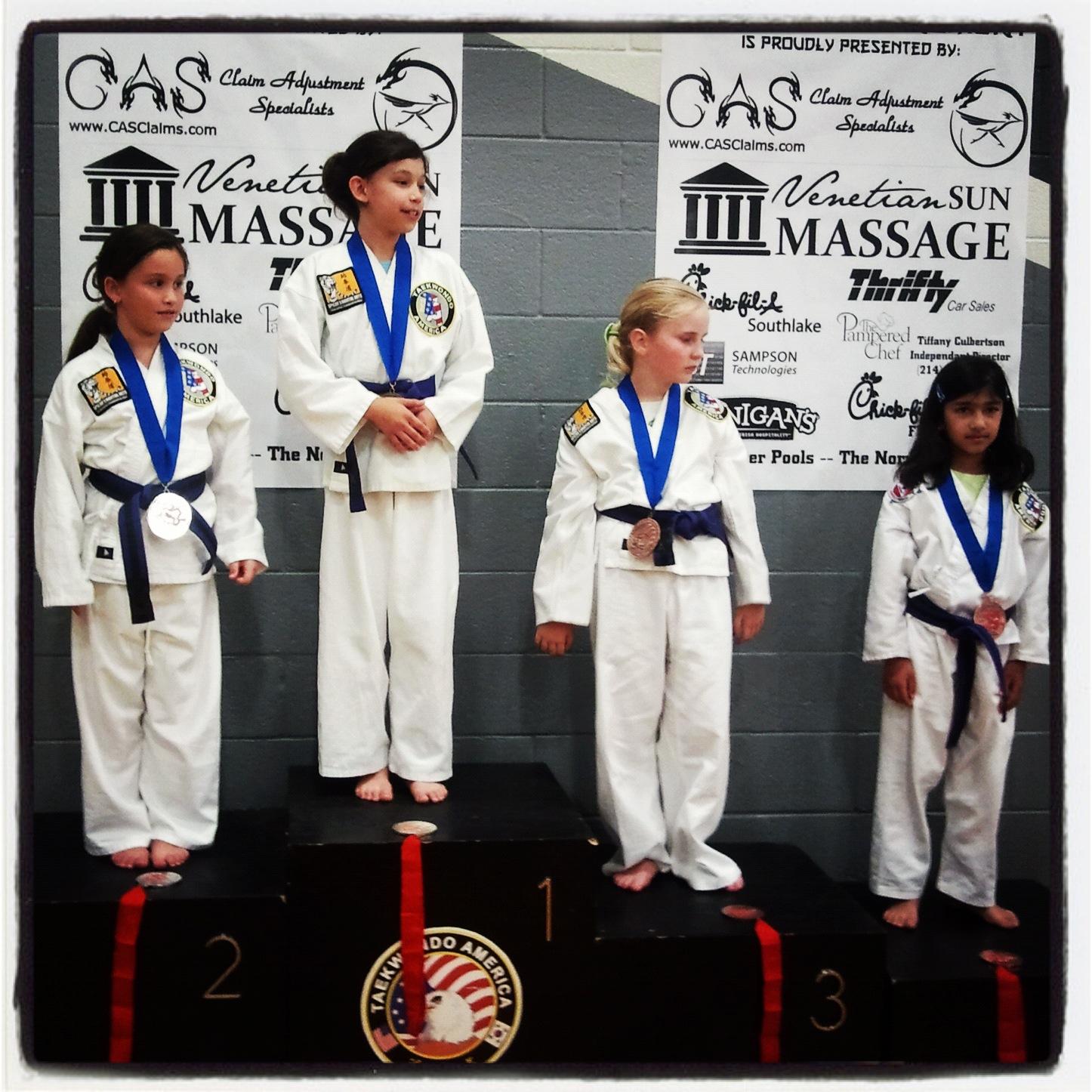 Karate Students From Southlake TX At Tournament.jpg