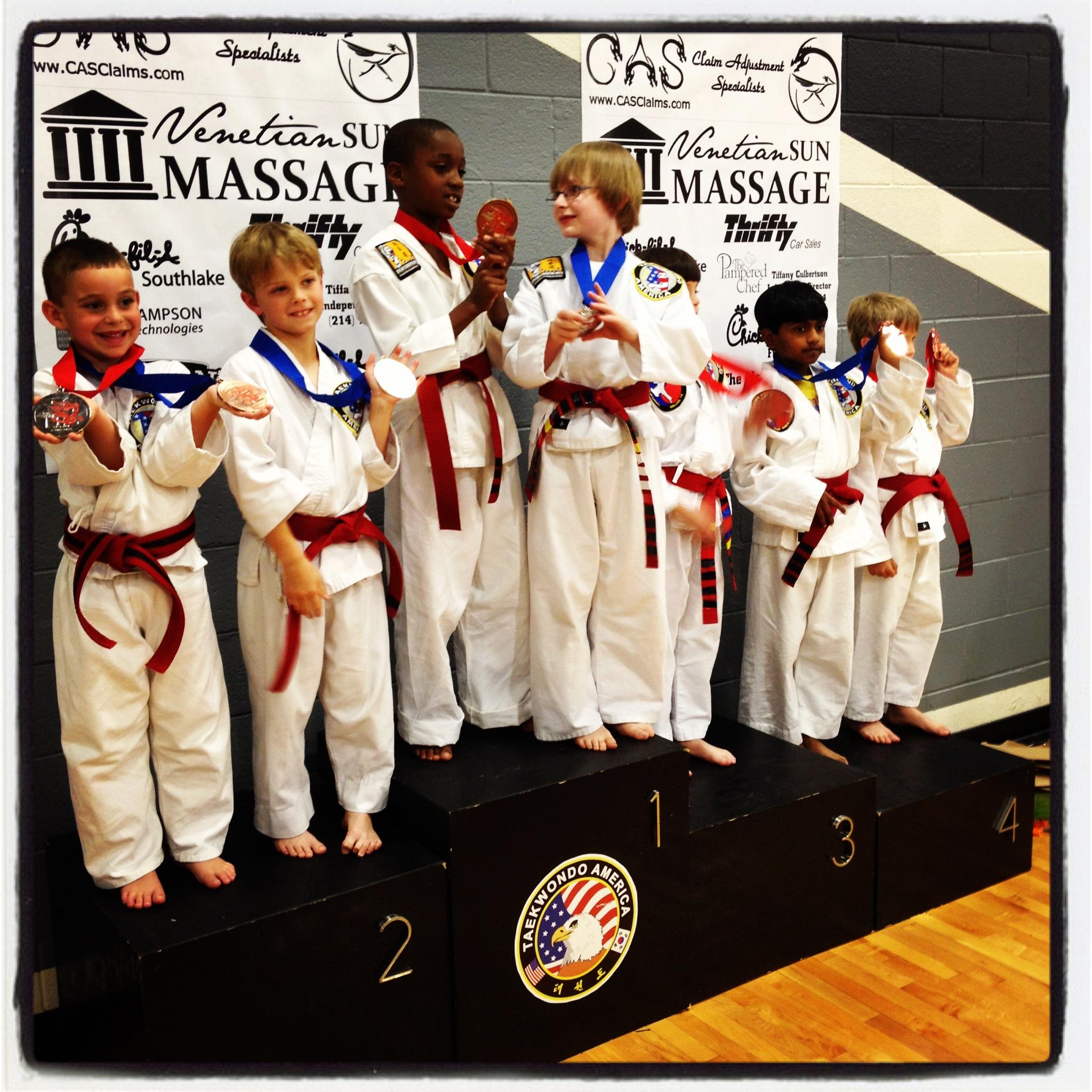 Martial Arts Students From Southlake TX At Tournament.jpg