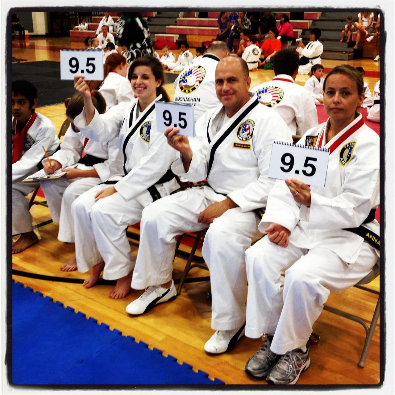 Karate Judges From Southlake TX At Tournament.jpg