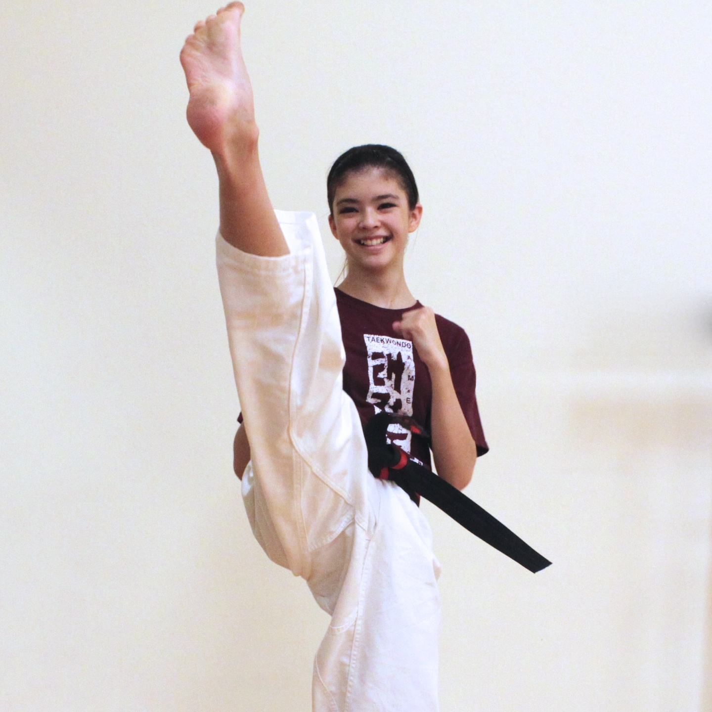 Mikayla's sister Briana is also training with us here in our Southlake martial arts center.