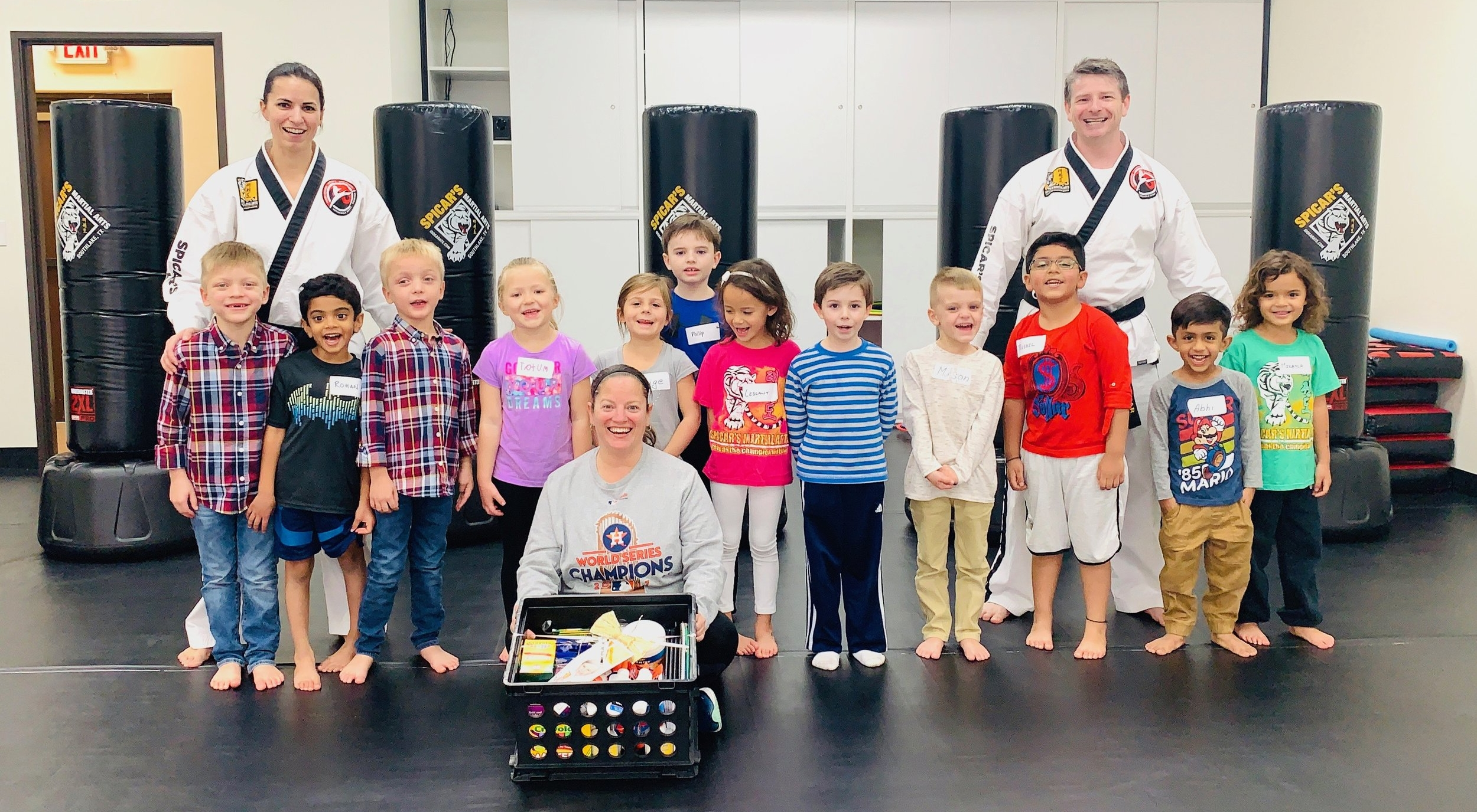 Old Union Elementary Kids Are Super Ninjas! — Spicar's