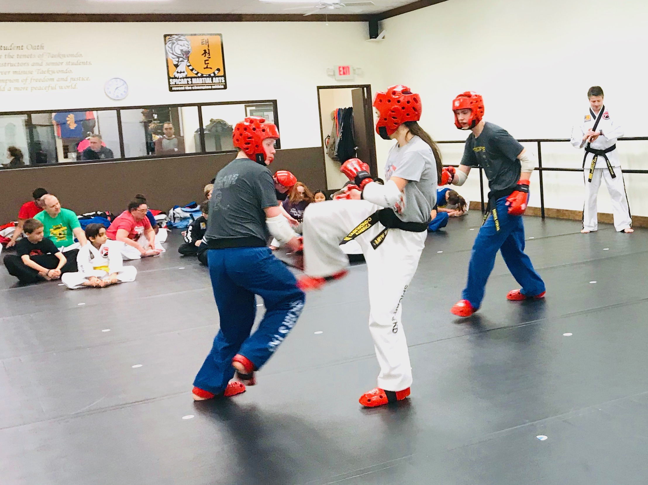 Karate Class Pictures — Spicar's Martial Arts in Southlake, Texas