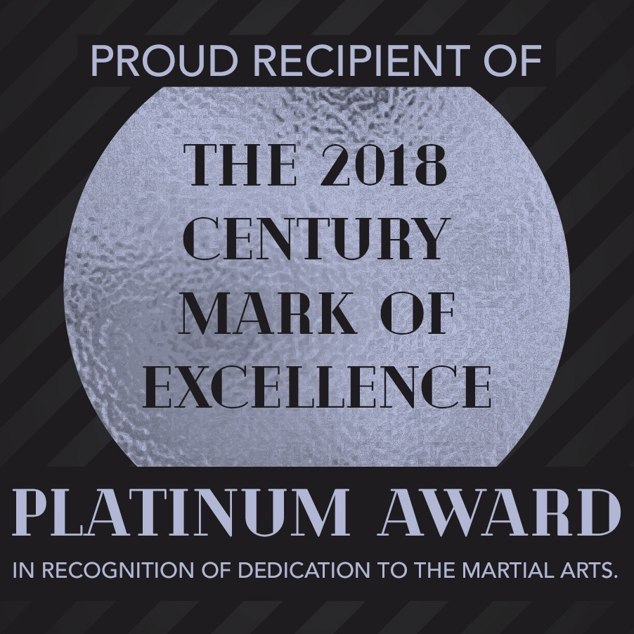 Platinum Award in the Martial Arts Industry