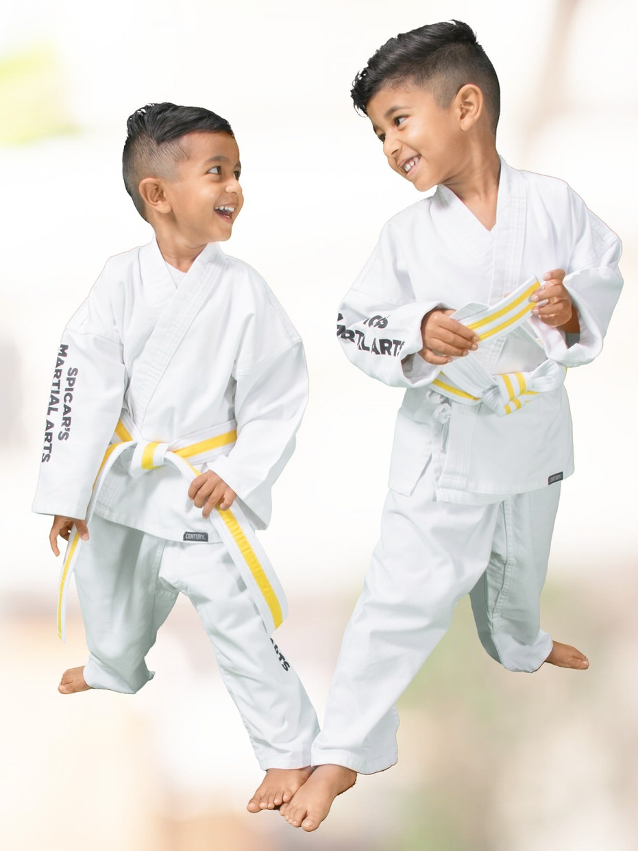 Our karate training provides kids with positive outlet and skills for greater self-control.