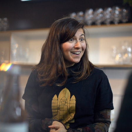 Assistant Brewer – Cynthia  Cynthia started with us last year; before this she was working at Cantillon in Belgium. Cynthia has recently attained her IBD foundation qualification. She aids the smooth running of brew and packaging days and also hosts the tours in our tap room.