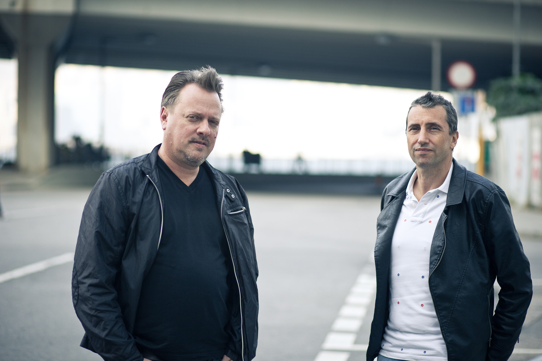 The Hub co-founders Richard Hobbs and Peter Caplowe